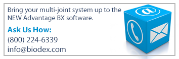 Bring your multi-joint system software up to date.