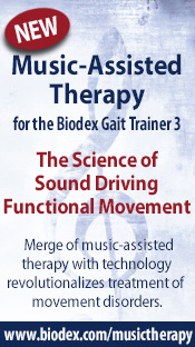 Music-Assisted Therapy for the Biodex Gait Trainer 3