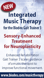 Integrated Music Therapy for the Biodex Gait Trainer 3