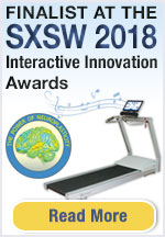 Biodex Gait Trainer 3 with Music-Assisted Therapy is a finalist at SXSW