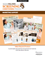 Click to learn more about Marketing Support for Fall Risk Screening & Conditioning