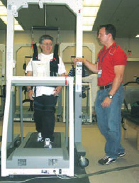 The Biodex Gait Training System