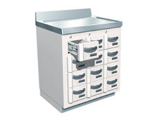 Lead-Lined Radioisotope Storage Cabinet