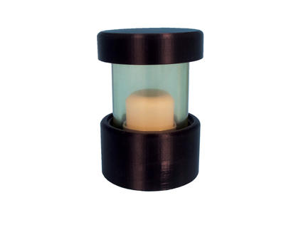 NEW High Density Lead Glass Vial Shield