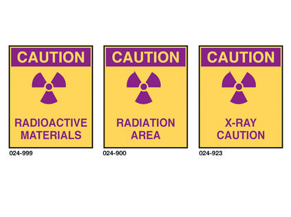 Plastic Caution Signs
