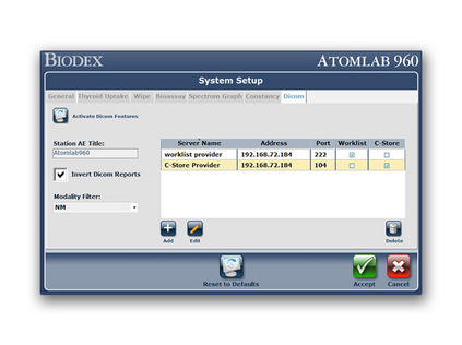 DICOM Interface