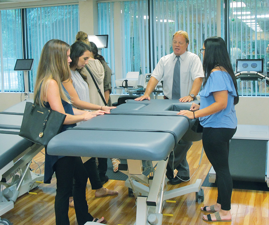Biodex Hosts Ultrasound Students from Hunter Business School