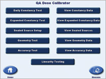 QA Screen Atomlab 500 Dose Calibrator