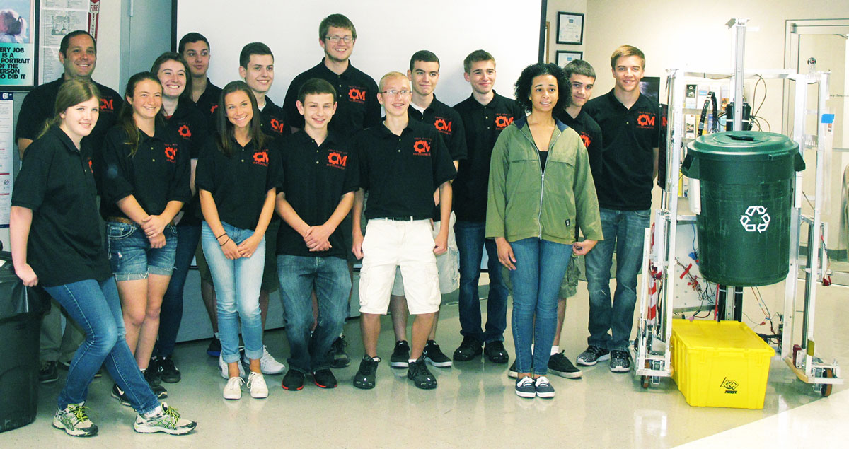 Biodex hosts Robotics Team