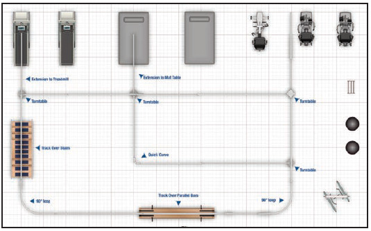 Floor Plans For Physical Therapy Clinic: Supported Ambulation System